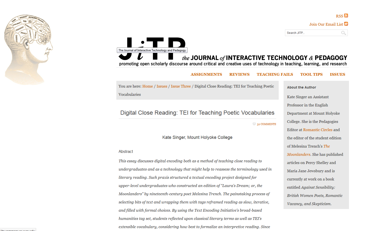 text analysis digital pedagogy in the humanities mla commons screenshot