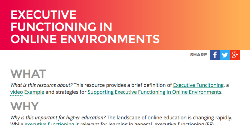 access-executive-functioning-udl