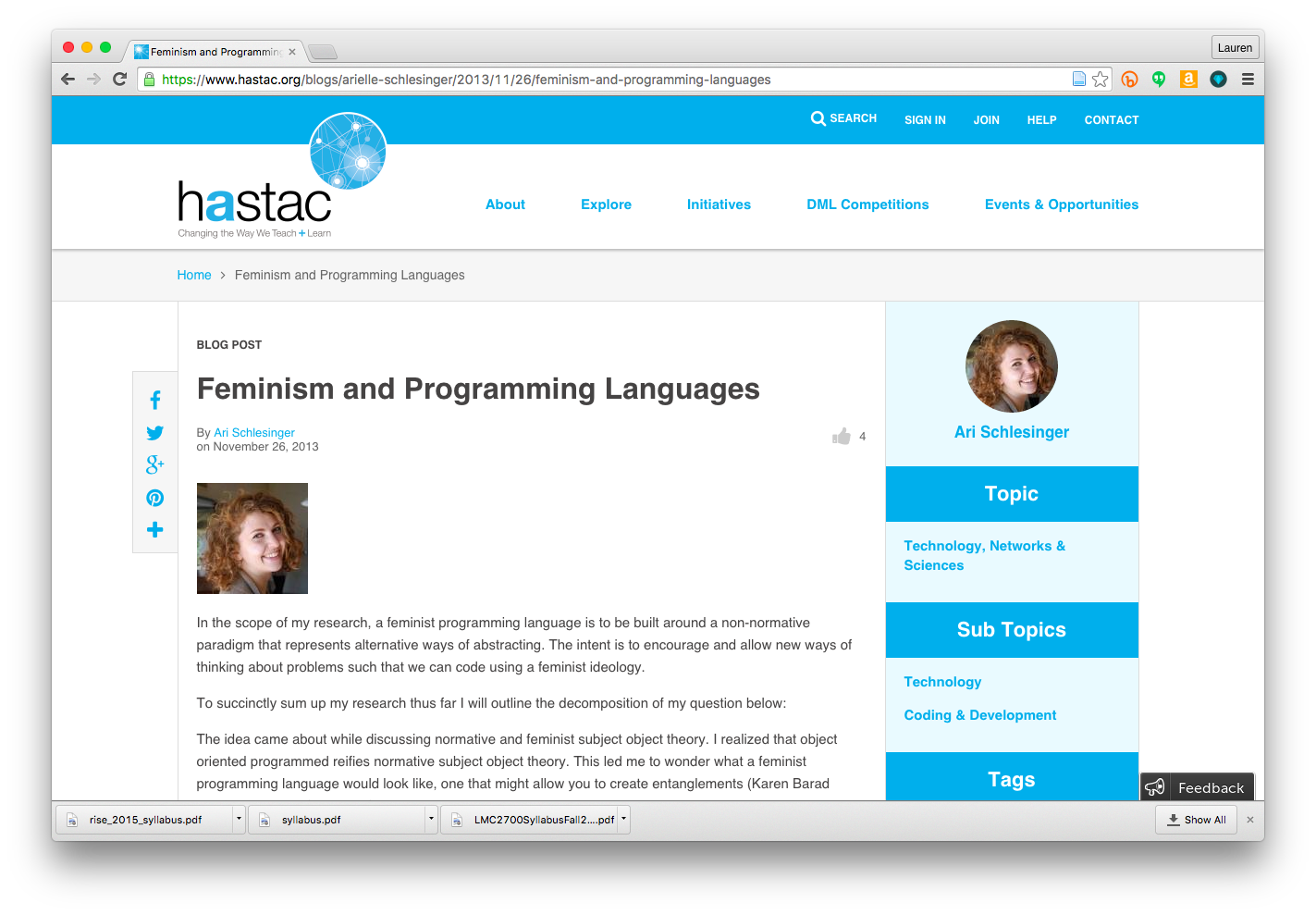 code-feminismandprogramming